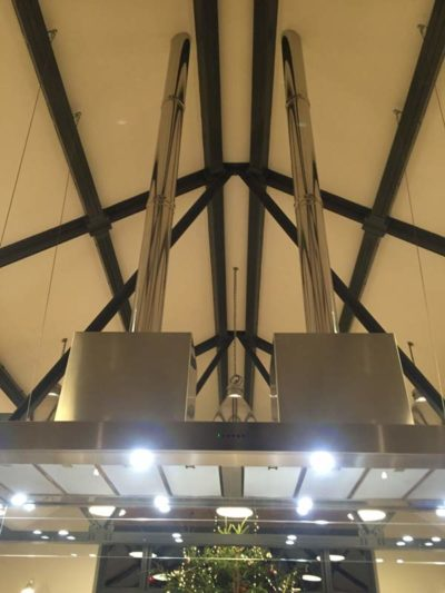 Bespoke Extractor fan custom made by MVB Electrical
