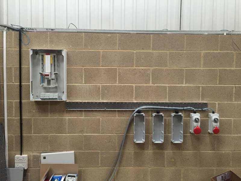 industrial circuit switch installed by MVB Electrical