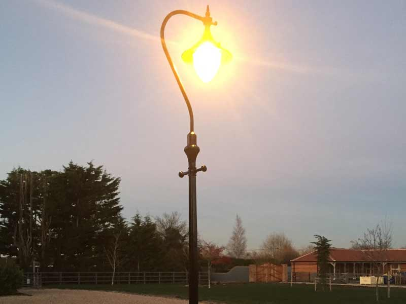 Victorian Street lamp outside-lights