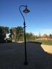 Victorian Street lamp outside-lights
