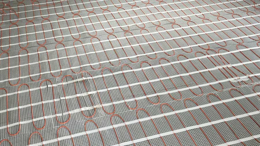 underfloor heating electrics installed by MVB Electrical Swindon