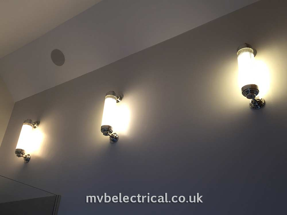 3 indoor wall lights MVB Electrical