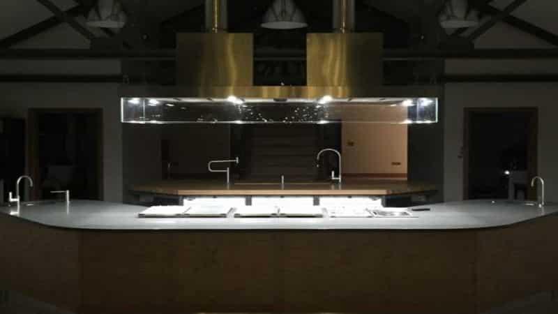 kitchen lighting installed